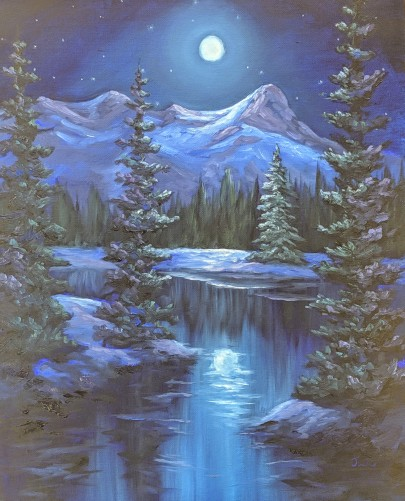 Mountain Moonlight